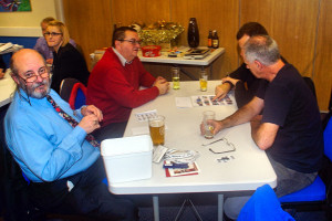 Bob, Kevin, Richard, Reg, our worthy quiz champs!