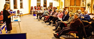 Attentive audience - Feb meeting