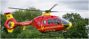 Midland Air Ambulance helicopter