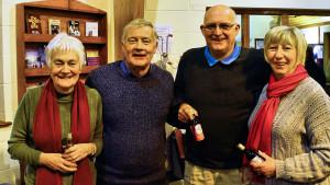 Quiz Winners (l-R) Davis, Penny, Del & Meg